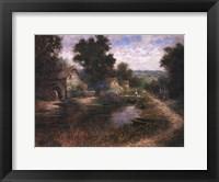 Watermill Pond Framed Print