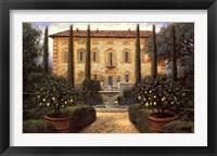 Framed Italian Villa