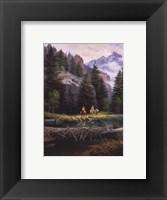 Framed Lure of Rockies