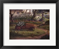 Hero's Garden Framed Print