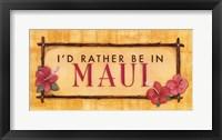 Framed Maui