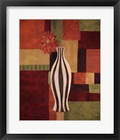 Abstract Floral II Framed Print