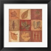 Framed Love - Leaves