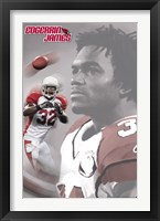 Framed Arizona Cardinals- James