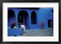 Framed Jodhpur, India (Blue), 1996