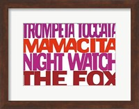Framed Trompeta Toccata
