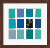 Framed True Blue
