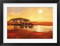 Framed Watering Hole