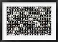 Framed Sock Monkeys