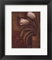 Tulip Interlude II Framed Print