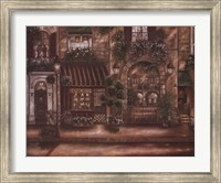 Framed Gourmet Shoppes I