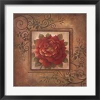 Framed Sacred Rose I