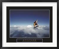 Framed Attitude - Skateboarder