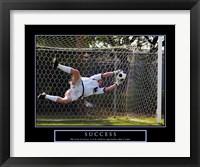 Framed Success - Soccer