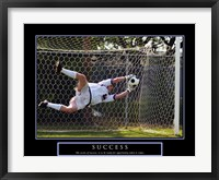 Framed Success - Soccer