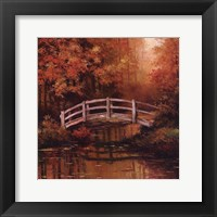 Framed Wooden Bridge