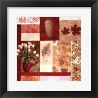 Vase Collage I Framed Print