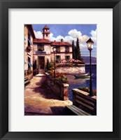Mediterranean Villa I Framed Print