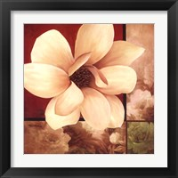 Framed Magnolia Collage