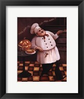 Framed Halloween Chef I