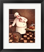 Framed Turkey Chef I