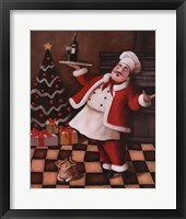 Framed Christmas Chef II