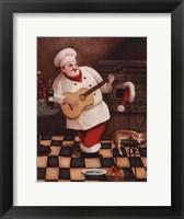 Framed Christmas Chef I