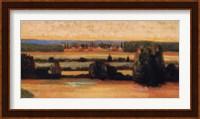 Framed Landscape In Val D'Orcia