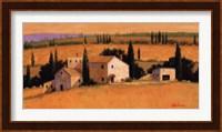 Framed Umbrian Afternoon
