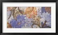 Framed Saffron & Sky II
