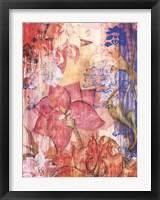 Framed Mandarin Garden II