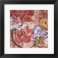 Framed Mandarin Garden III