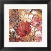 Framed Mandarin Garden IV