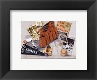 Framed Vintage Yankees