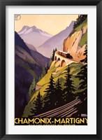 Framed Chamonix-Martigny