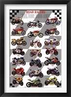 Framed Road Racers