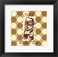 Framed Tiki Exotica