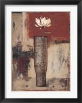Framed Solitaire Bloom I
