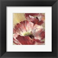 Framed Lush Poppy