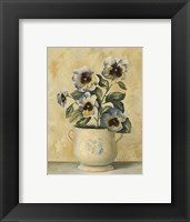 Framed Pansies 3