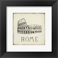 Framed Rome Tile
