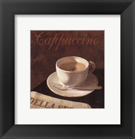 Framed Cappuccino Cup