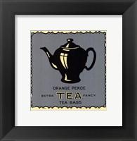 Framed Orange Pekoe Tea
