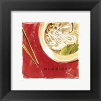 Framed Soba Noodles