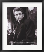 Framed James Dean (Live As If)