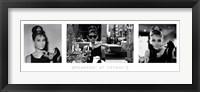 Framed Audrey Hepburn - Breakfast at Tiffany's