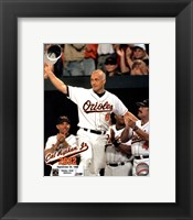 Framed Cal Ripken, Jr. - 2632nd game (hat tip)