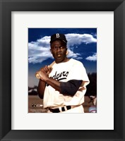 Framed Jackie Robinson