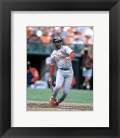 Framed Ozzie Smith