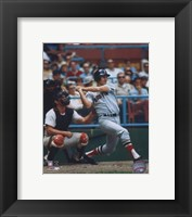 Framed Carl Yastrzemski FULL SWING